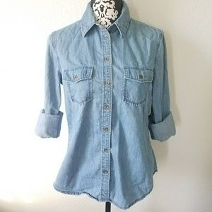 Banana Republic chambray button down